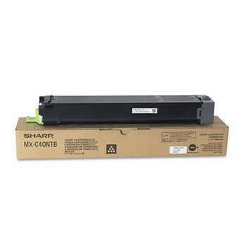 Sharp MX-C40NTB Black Toner Cartridge, Sharp MXC40NTB
