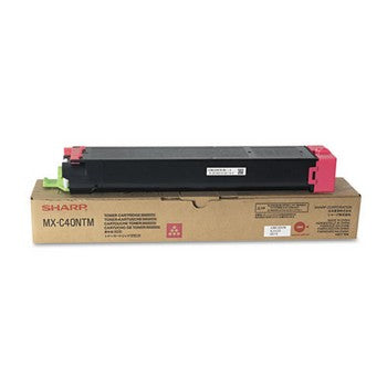 Sharp MX-C40NTM Magenta Toner Cartridge, Sharp MXC40NTM
