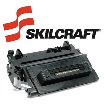 Compatible HP 64A Black, Standard Yield Toner Cartridge, SKILCRAFT SKL-CC364A