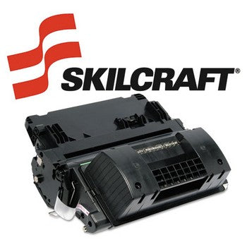 Compatible HP 64X Black, High Yield Toner Cartridge, SKILCRAFT SKL-CC364X