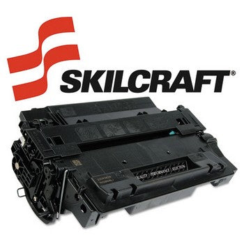 Compatible HP 55A Black, Standard Yield Toner Cartridge, SKILCRAFT SKL-CE255A