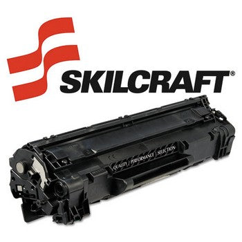 Compatible HP 85A Black, Standard Yield Toner Cartridge, SKILCRAFT SKL-CE285A