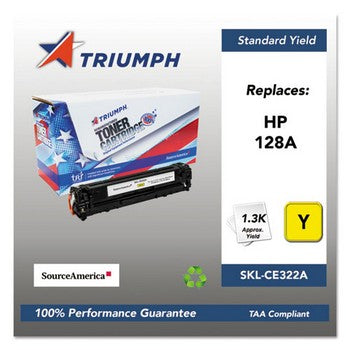 751000NSH1111 Remanufactured CE322A (128A) Toner, Yellow