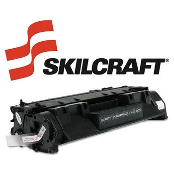 Compatible HP 05A Black, Standard Yield Toner Cartridge, SKILCRAFT SKL-CE505A