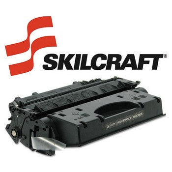 Compatible HP 05X Black, High Yield Toner Cartridge, SKILCRAFT SKL-CE505X