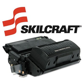 Compatible HP 42X Black, High Yield Toner Cartridge, SKILCRAFT SKL-Q5942X