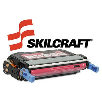 Compatible HP 643A Magenta, Standard Yield Toner Cartridge, SKILCRAFT SKL-Q5953A
