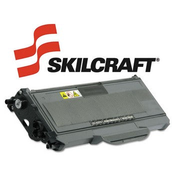 Compatible Brother TN360 Black, High Yield Toner Cartridge, SKILCRAFT SKL-TN360