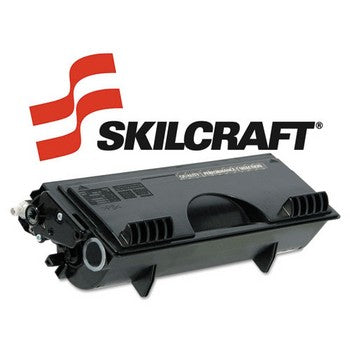 Compatible Brother TN460 Black, High Yield Toner Cartridge, SKILCRAFT SKL-TN460