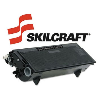 Compatible Brother TN570 Black, High Yield Toner Cartridge, SKILCRAFT SKL-TN570