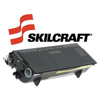 Compatible Brother TN580 Black, High Yield Toner Cartridge, SKILCRAFT SKL-TN580