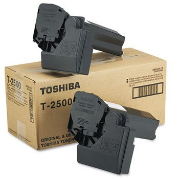 Toshiba T2500 Black, 2/Carton Toner Cartridge
