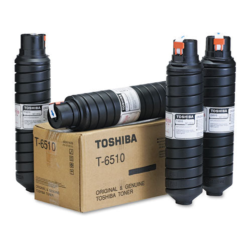 Toshiba T6510 Black, 4/Carton Toner Cartridge