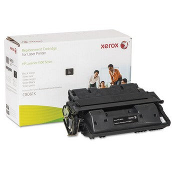 006R00933 Replacement High-Yield Toner for C8061X (61X), 10800 Page Yield, Black