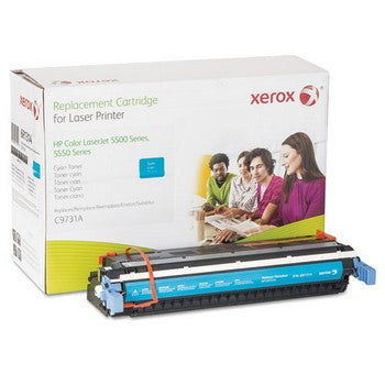 006R01314 Replacement Toner for C9731A (645A), Cyan