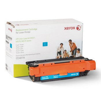 006R03009 Replacement Toner for CE401A (507A), Cyan