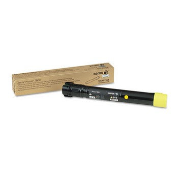 Xerox 106R01568 Yellow, High Yield Toner Cartridge