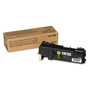 Xerox 106R01593 Yellow, Standard Yield Toner Cartridge