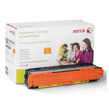 106R02263 Remanufactured CE742A (307A) Toner, 7300 Page-Yield, Yellow