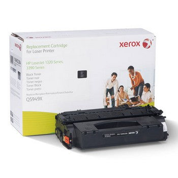 HP 49X Black, Extended Yield, Remanufactured Toner (Xerox) Toner Cartridge, Xerox 106R2284