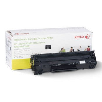 HP 36A Black, Extended Yield, Remanufactured Toner (Xerox) Toner Cartridge, Xerox 6R3197