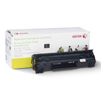 HP 35A Black, Extended Yield, Remanufactured Toner (Xerox) Toner Cartridge, Xerox 6R3198