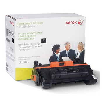 HP 90A Black, Extended Yield, Remanufactured Toner (Xerox) Toner Cartridge, Xerox 6R3202