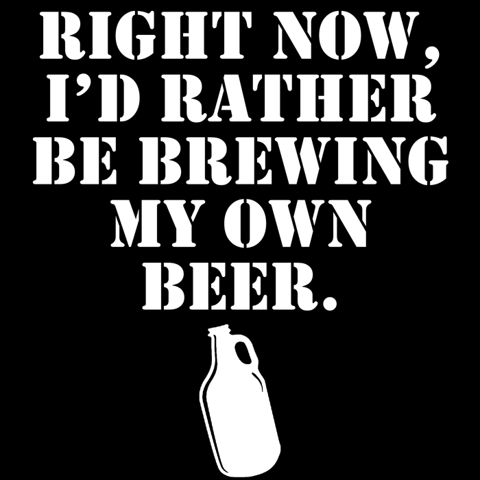 Rather Be Brewing Beer Tee