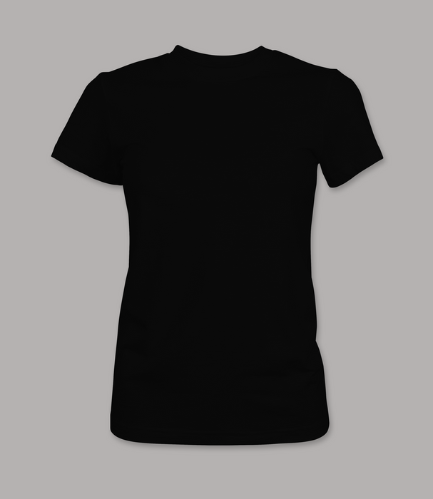 Women's Fitted Custom T Shirt
