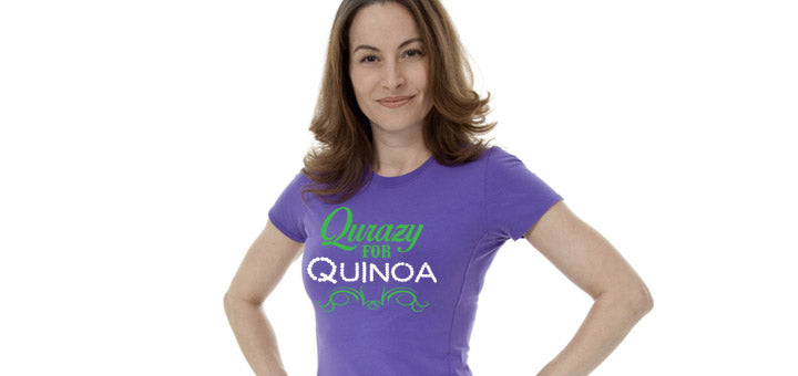 Crazy for Quinoa Tee