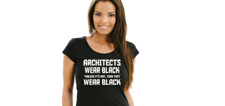 Architects Wear Black