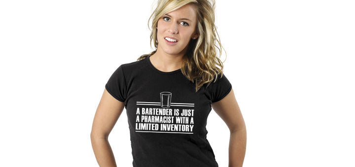 Bartender is a Pharmacist Tee Shirt