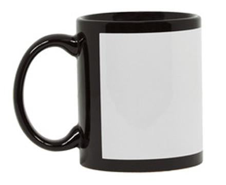 Custom Printed Black Coffee Mug