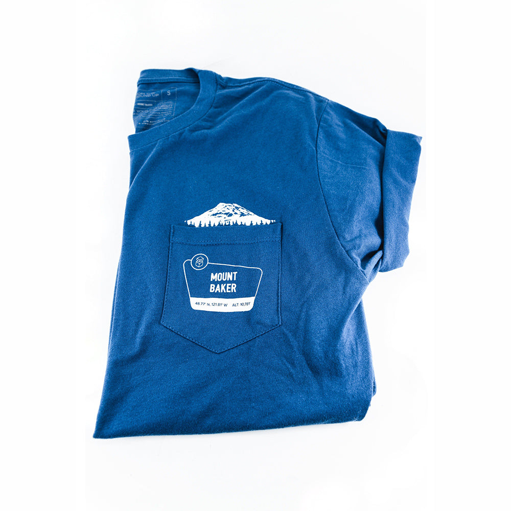 Mount Baker Pocket Crew T