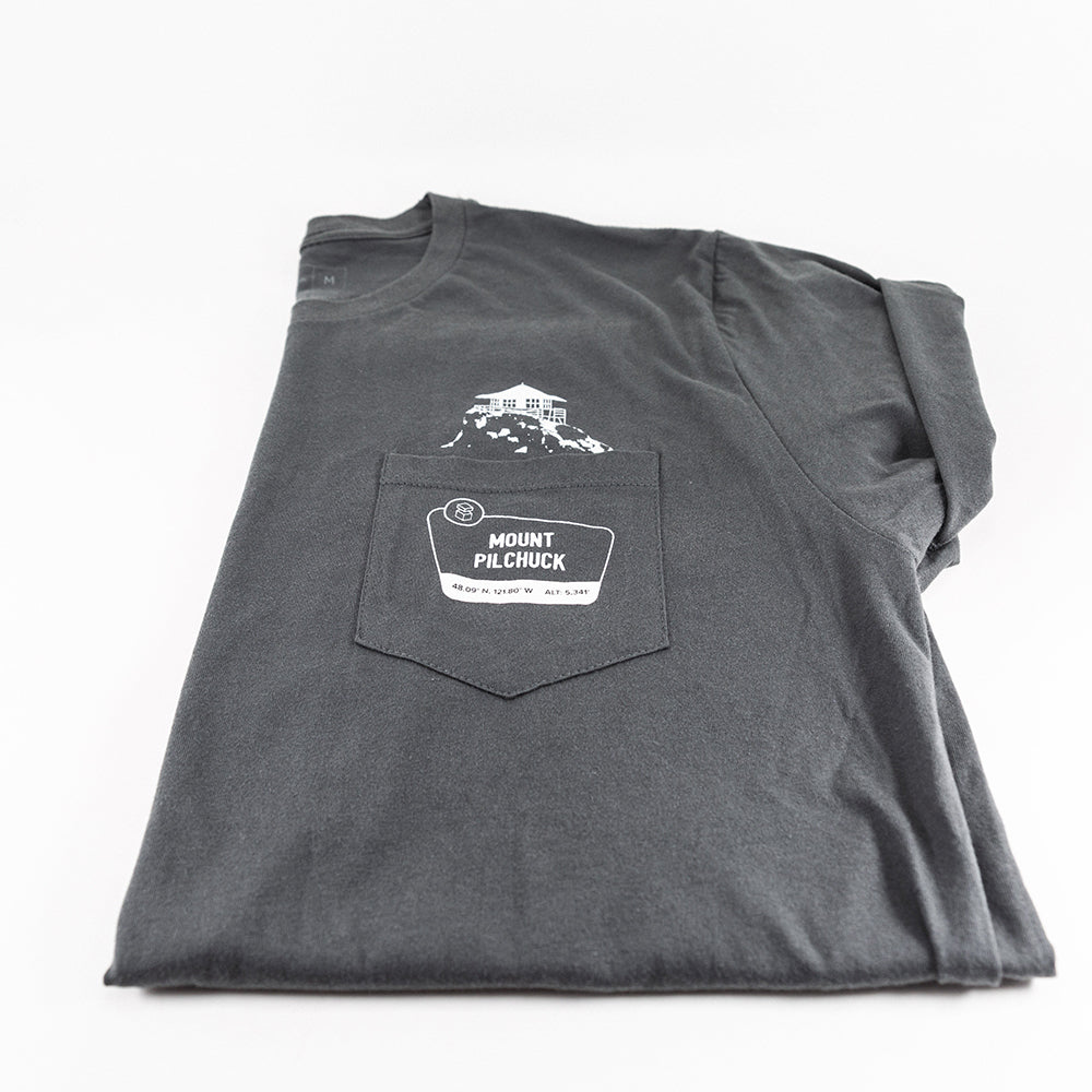 Mount Pilchuck Pocket Crew T