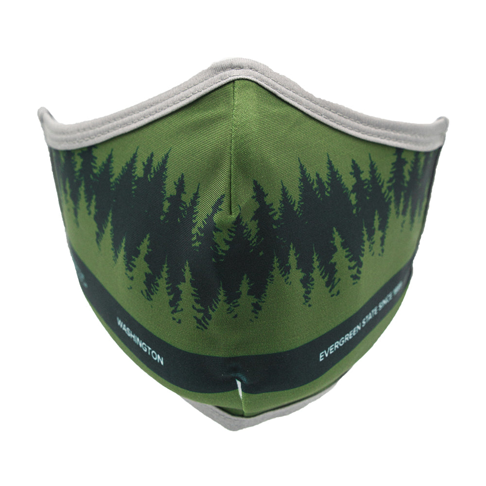 Evergreen State Facemask