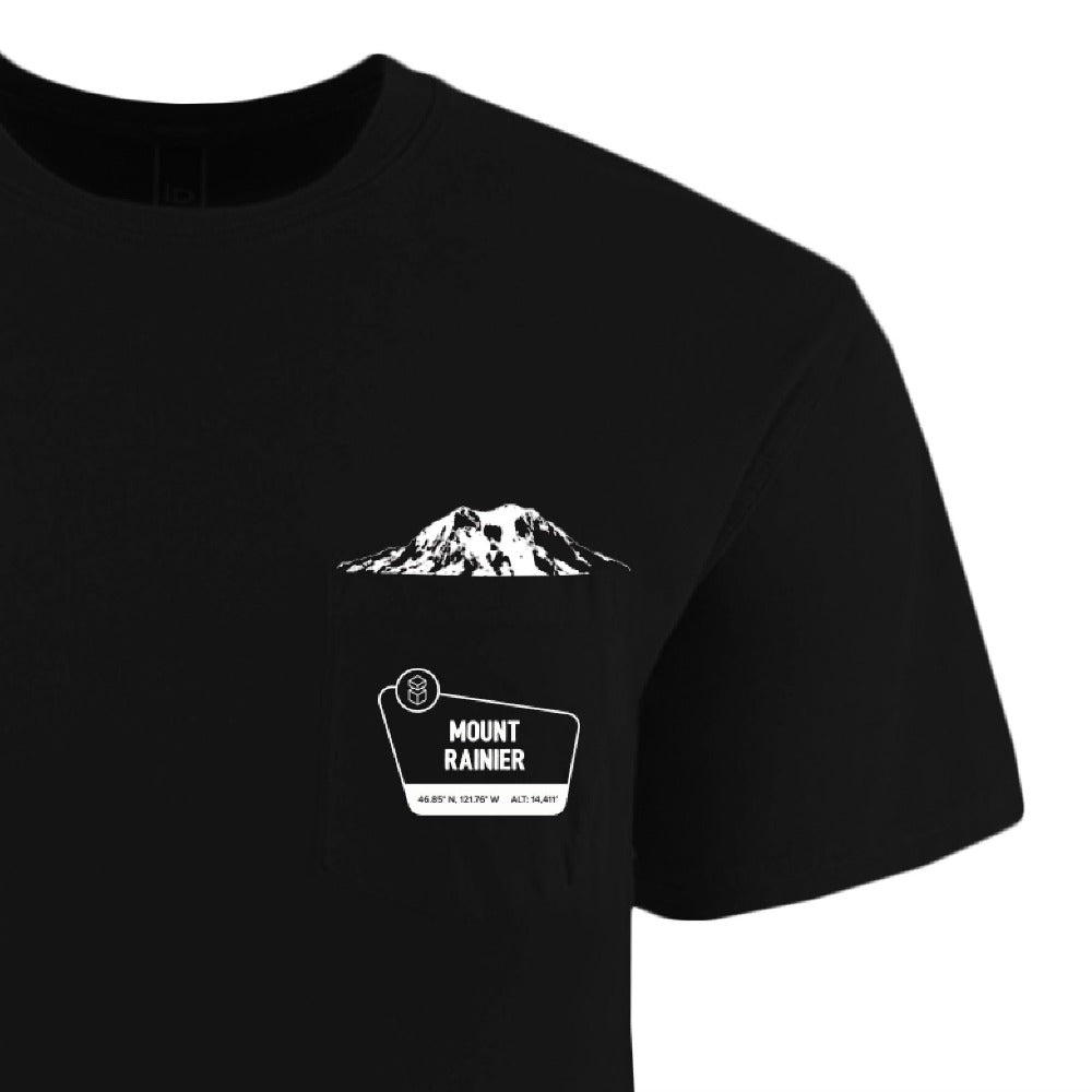 Mount Rainier Pocket Crew T