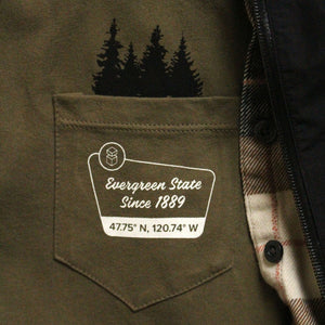 Evergreen State Pocket Crew T