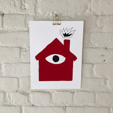 House Screen print