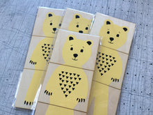 NATURE Mix-and-Match magnetic set, 3 characters (Bear, Raccoon and wolf)