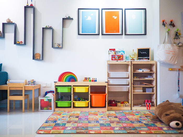 (Updated!) A Peek into Our Play Spaces at Home!
