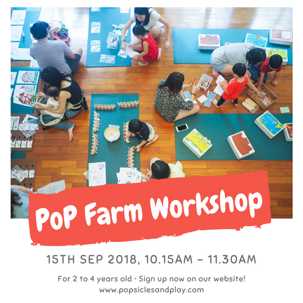 PoP Farm for 2 to 4 years old (15th Sept 2018)