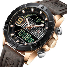 Load image into Gallery viewer, Military Watches With Chronograph, LED Digital And Analog