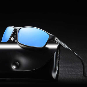 Aluminum-Magnesium Frame, Fashion Polarized Sunglasses For Men