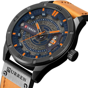 Stylish Watches For Men Leather Strap Watches