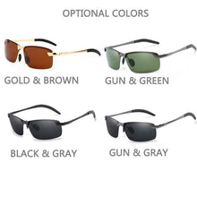 Load image into Gallery viewer, Stylish Mens Polarized Sunglasses