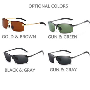 Stylish Mens Polarized Sunglasses
