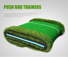 Load image into Gallery viewer, High Simulation Mini Golf Putter Indoor/Outdoor Training Mat