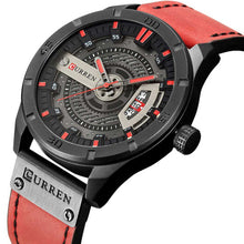 Load image into Gallery viewer, Stylish Watches For Men Leather Strap Watches