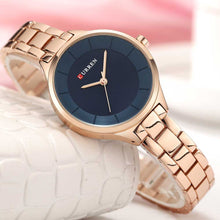 Load image into Gallery viewer, Fashion Quartz Watches For Women With Stainless Steel Band